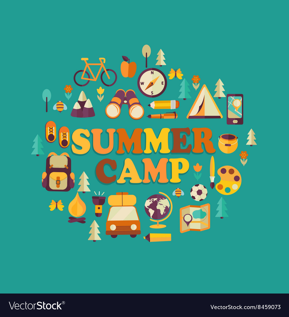 Summer Camp themed
