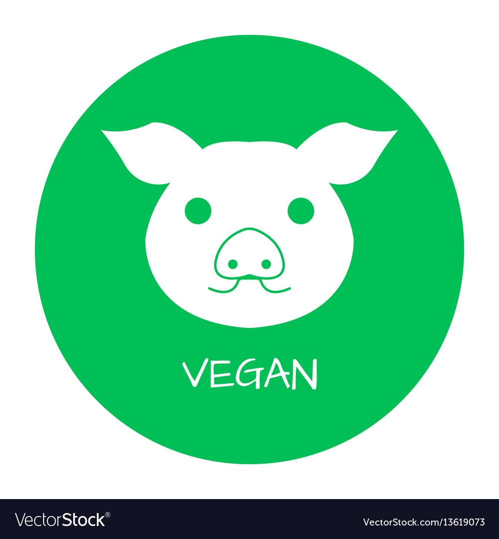 Vegan Free Label Food Intolerance Symbols Vector Image