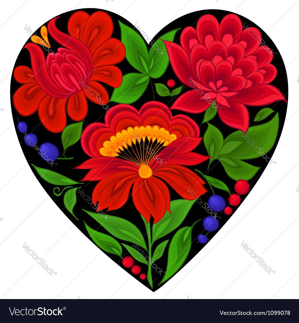 Floral backgroundsflowerheart love