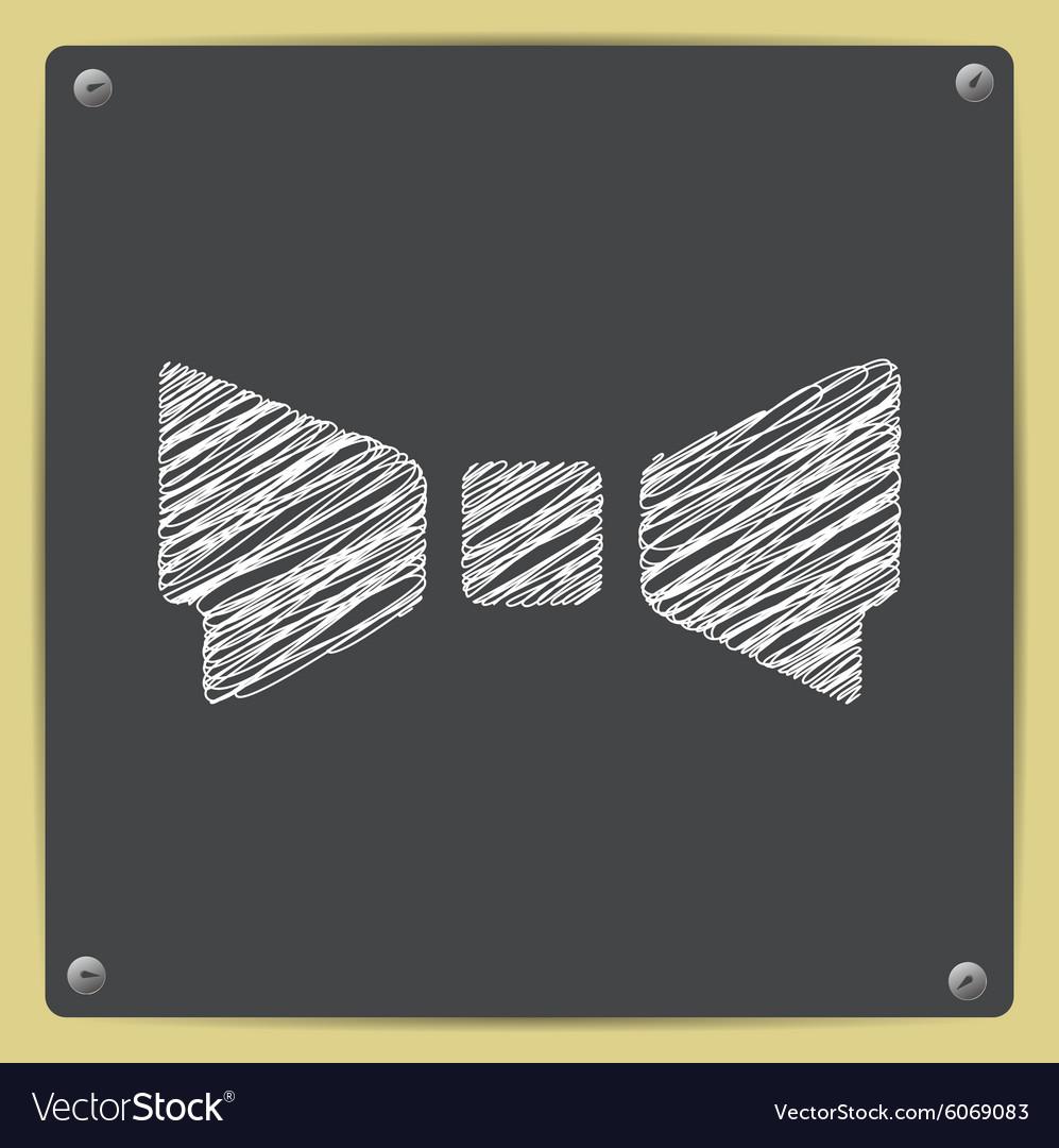 Chalk drawn sketch oficon