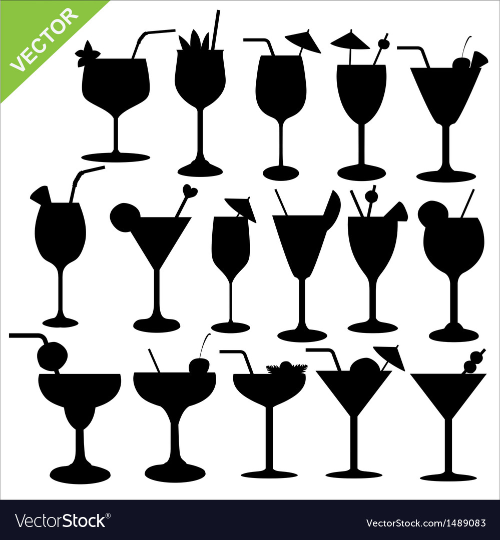 Cocktail silhouettes