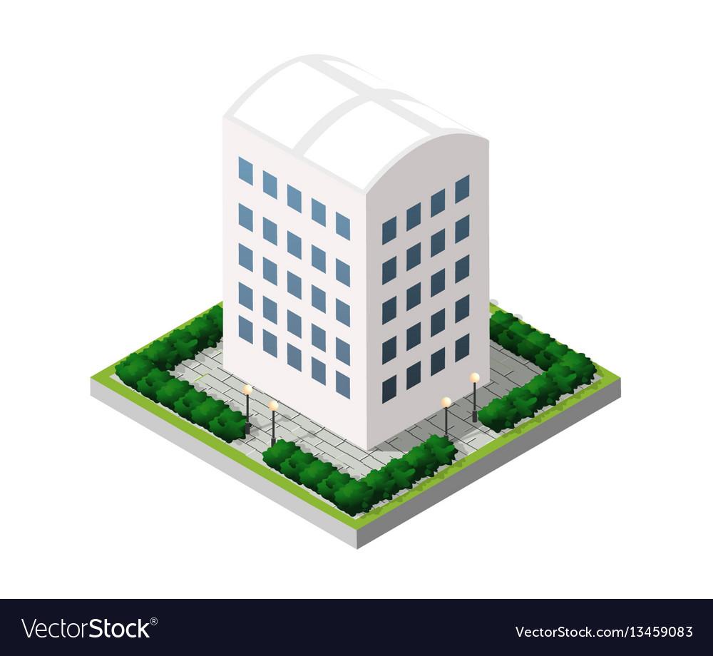 Real estate isometric