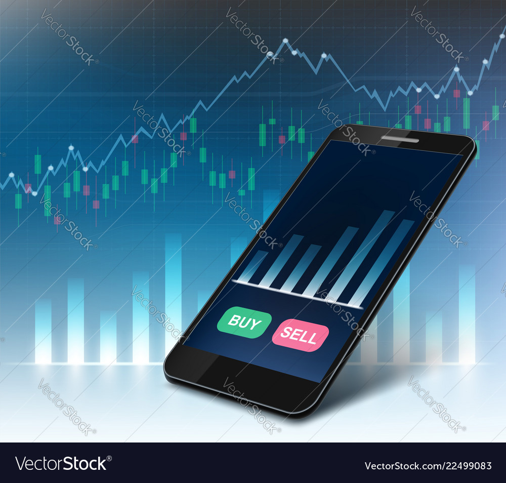 Stock exchange market data on the smartphone