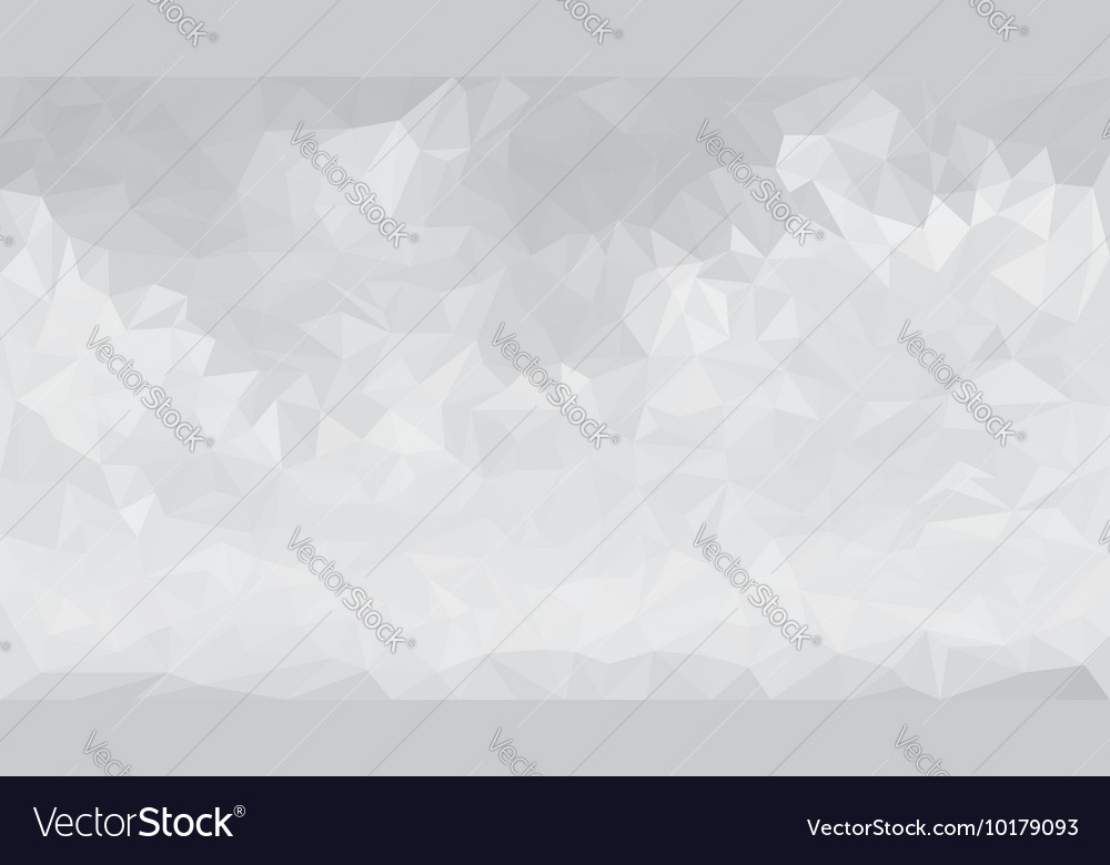 Abstract gray low polygon triangular background