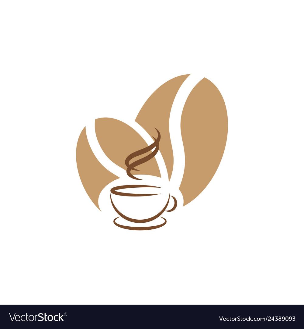Coffee graphic design template