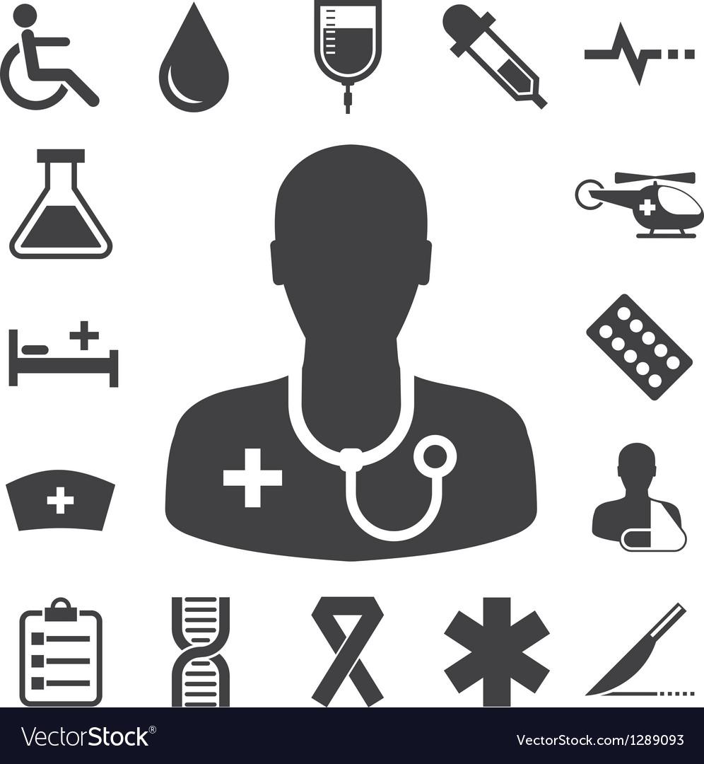 Medical icons set eps 10