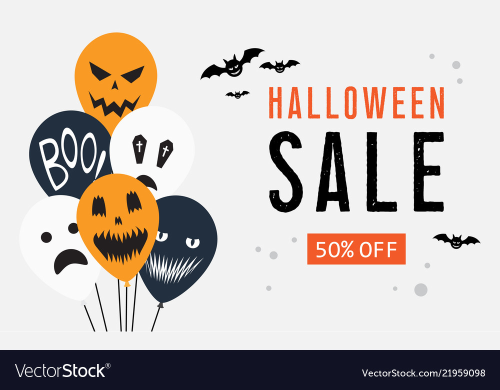 Halloween Sale. Vector Illustration Royalty Free Cliparts, Vectors, And  Stock Illustration. Image 63674008.
