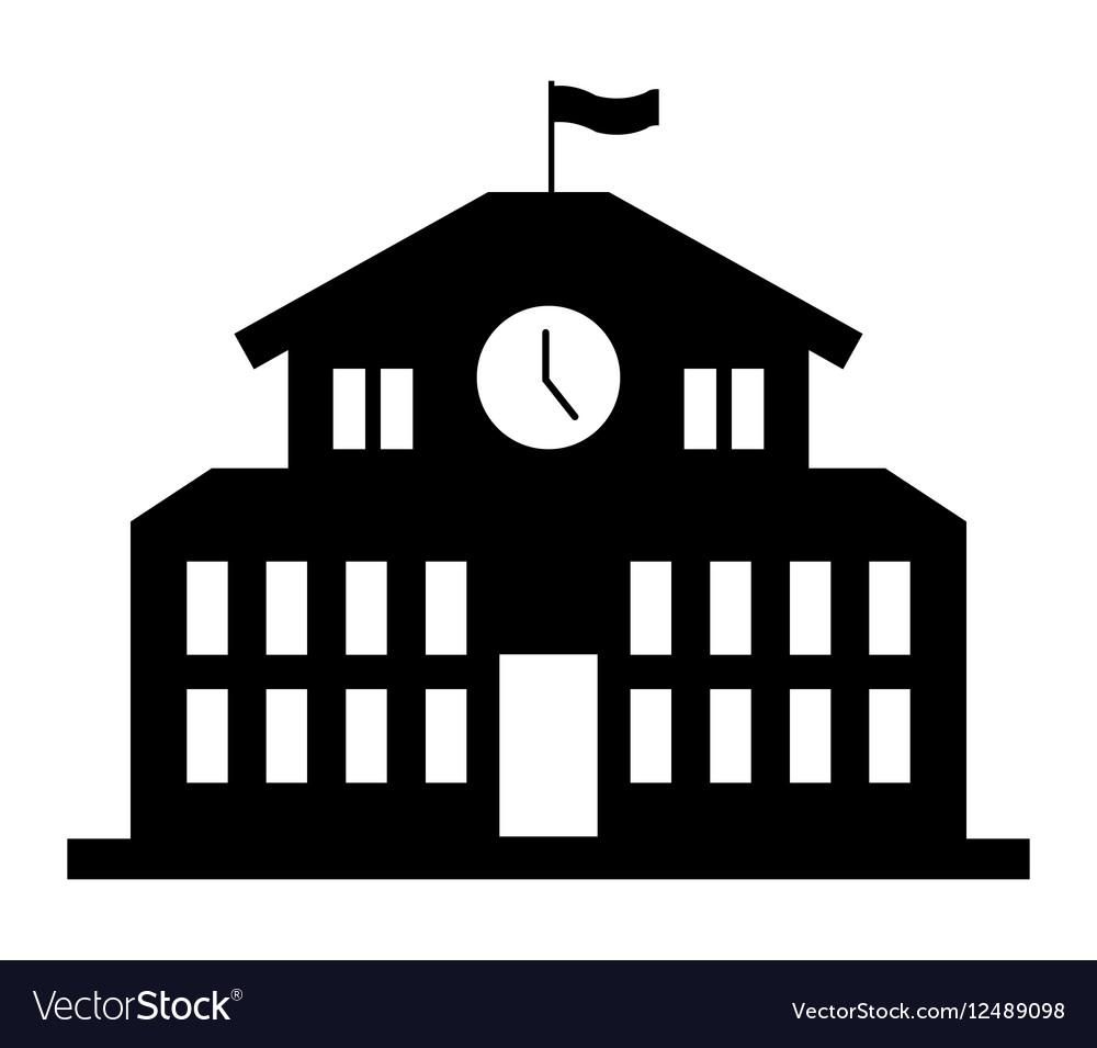 School building icon