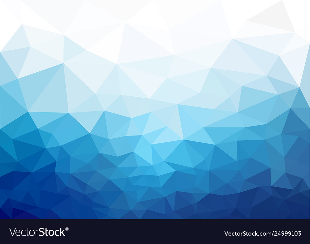 Geometric blue cold texture background Royalty Free Vector