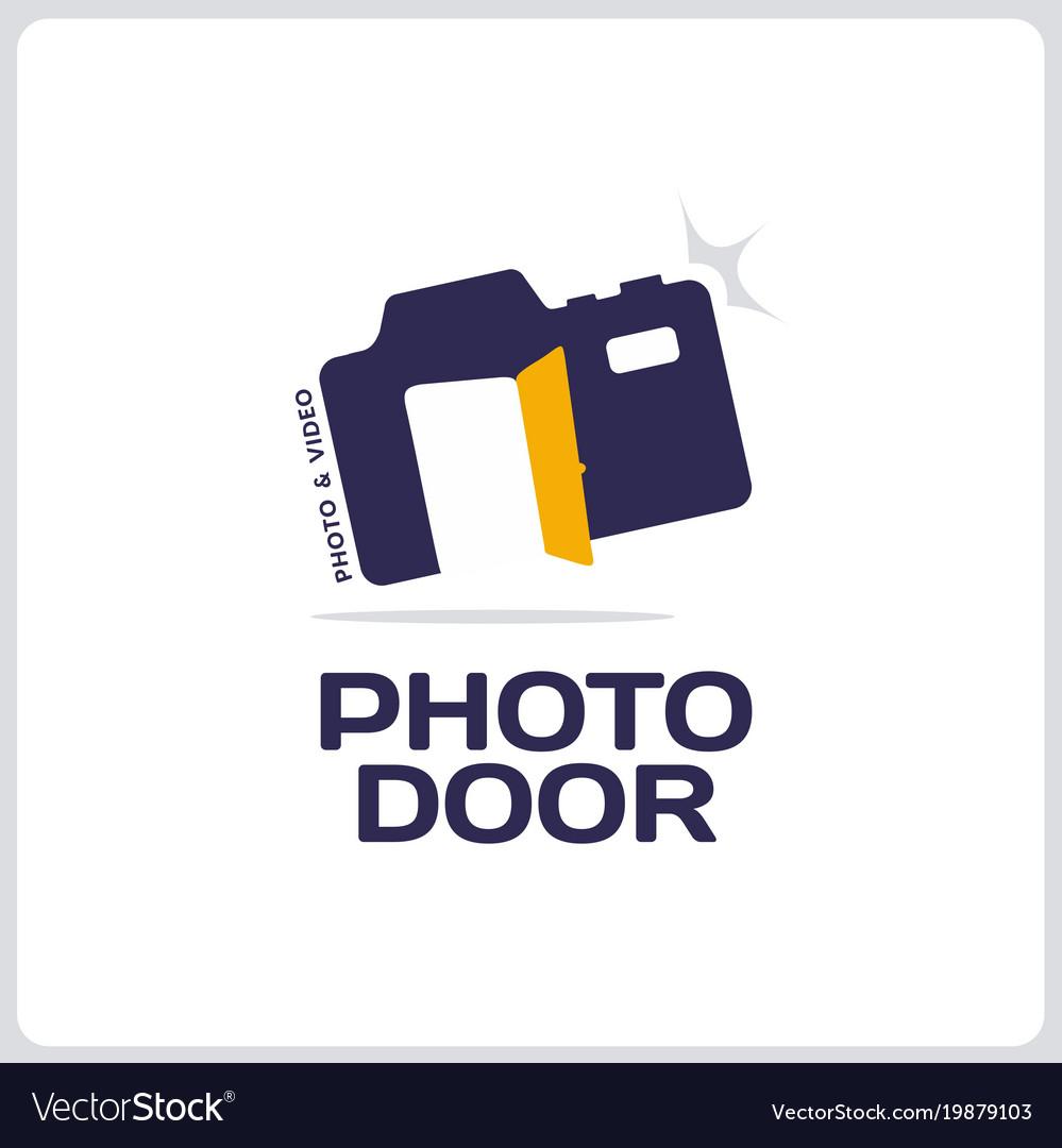 Modern professional sign logo phoro door