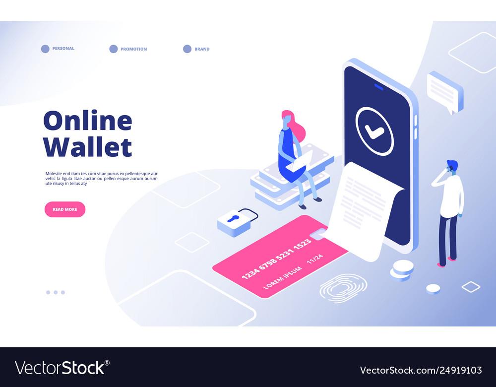 Online wallet internet payment money transactions
