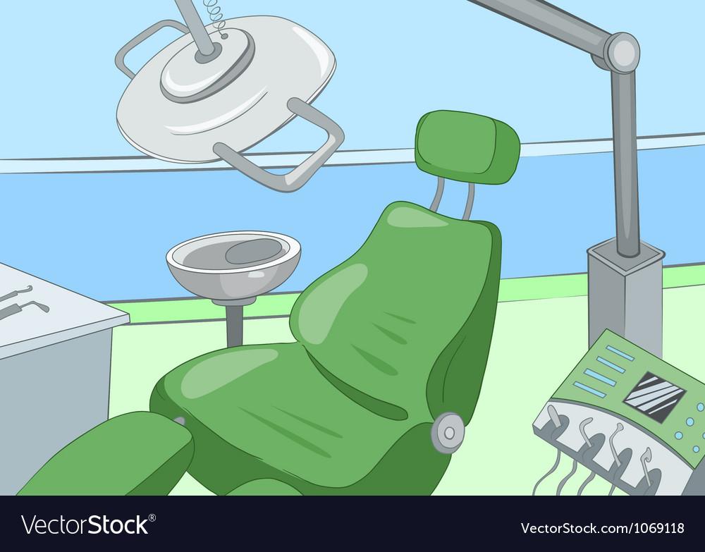 Dental Office vector image