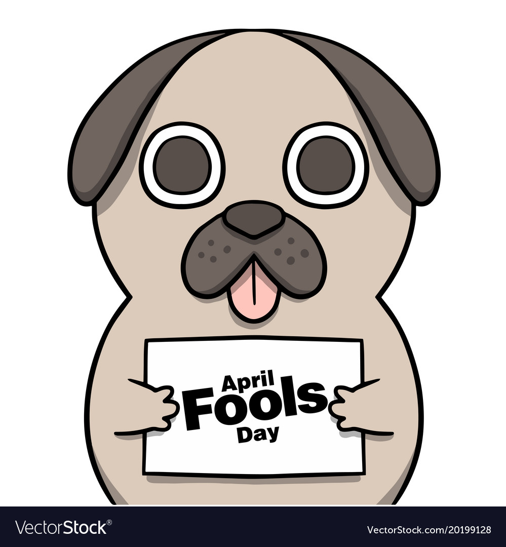 April fools day cartoon background image