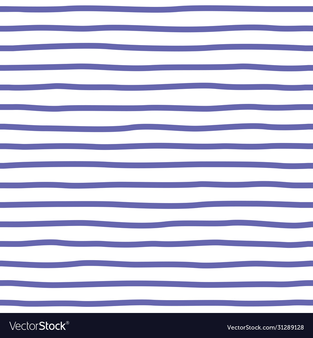 Decorative seamless pattern with handdrawn blue