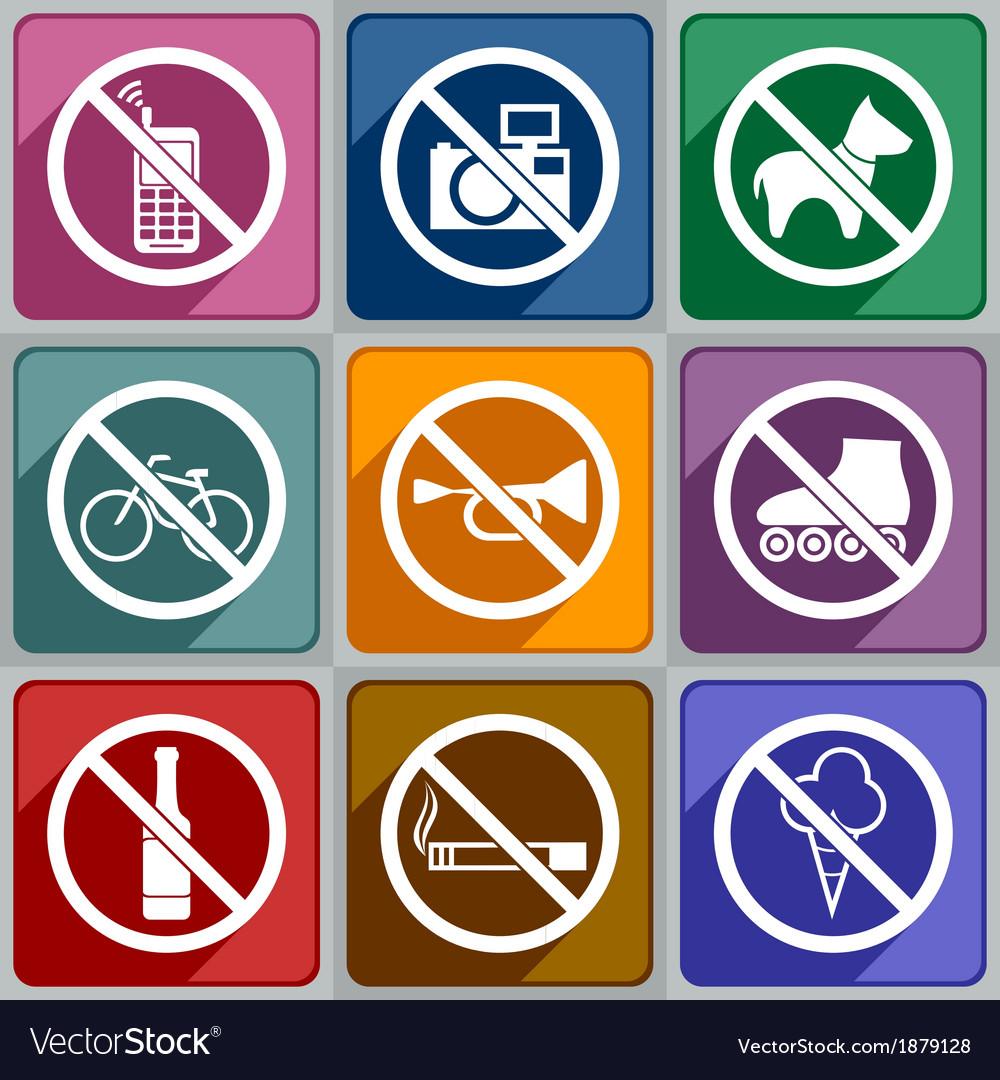 Icons prohibition