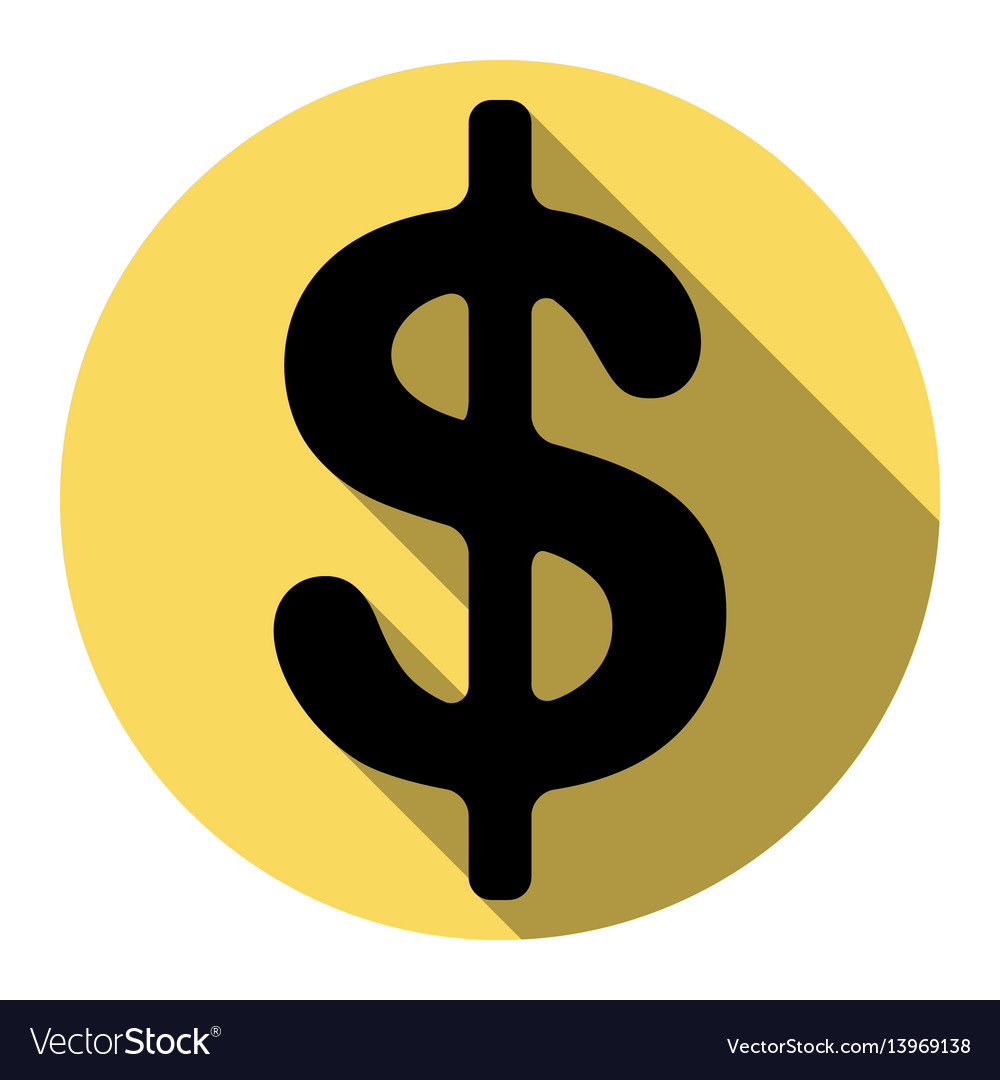 Dollars sign usd currency symbol