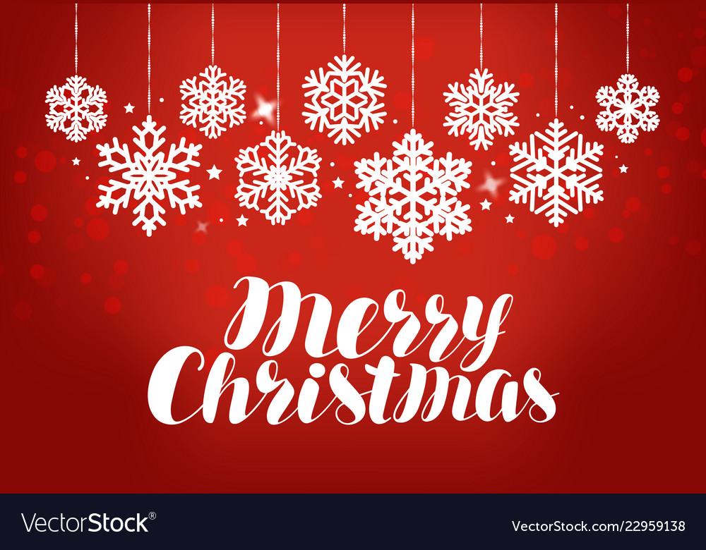 Merry christmas greeting card holiday