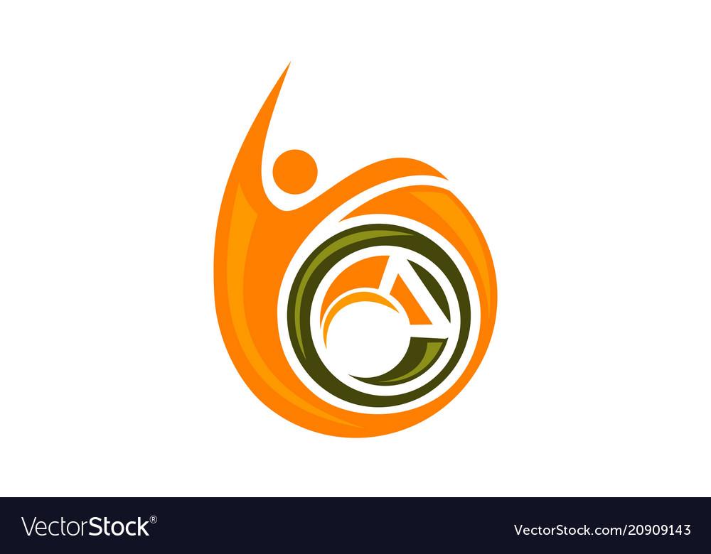 Best fitness logo design template