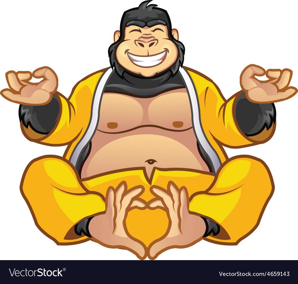 Fat Gorilla Buddha