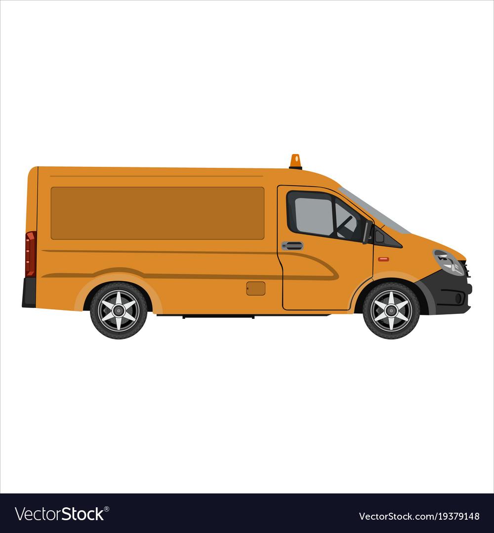 Flat cargo van