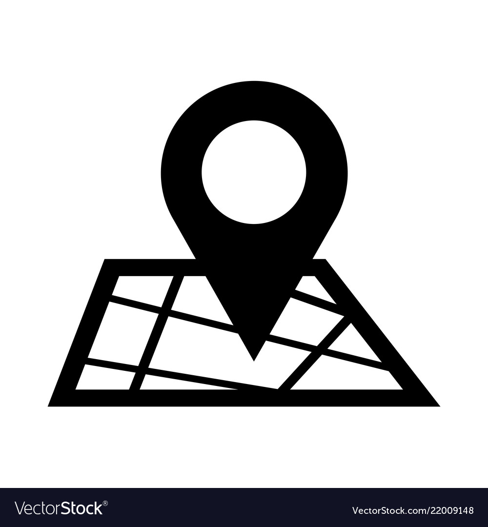 map pointer gps icon royalty free vector image