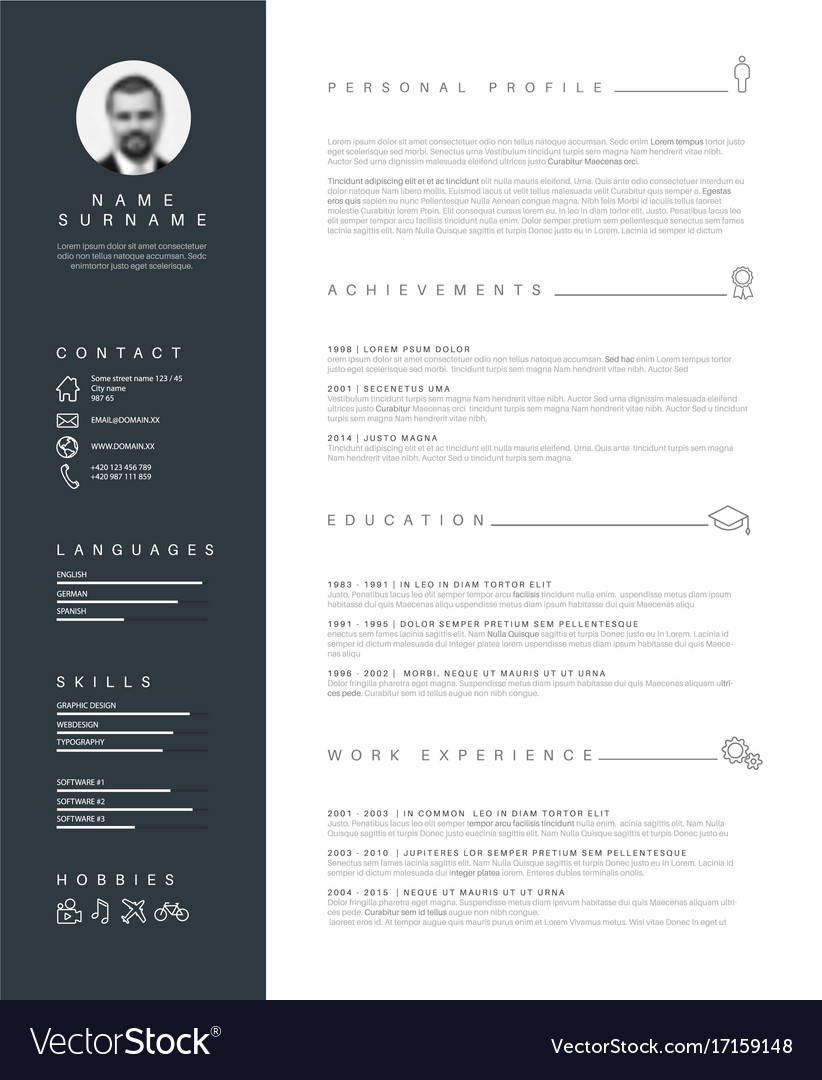 resume typography resume typography Idealvistalistco
