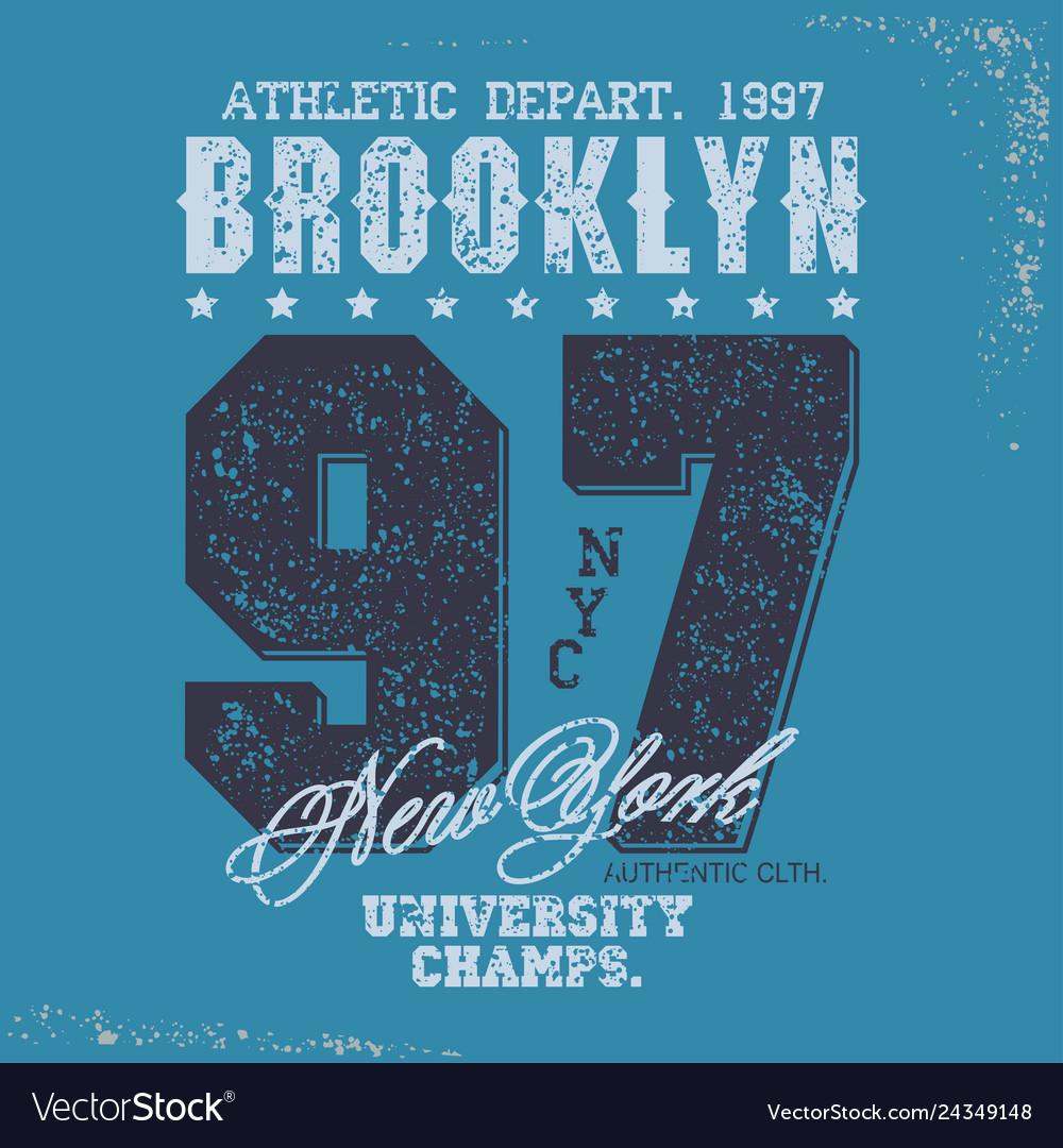 T-shirt stamp graphic set sport wear typography