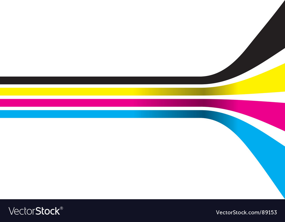 CMYK color strips