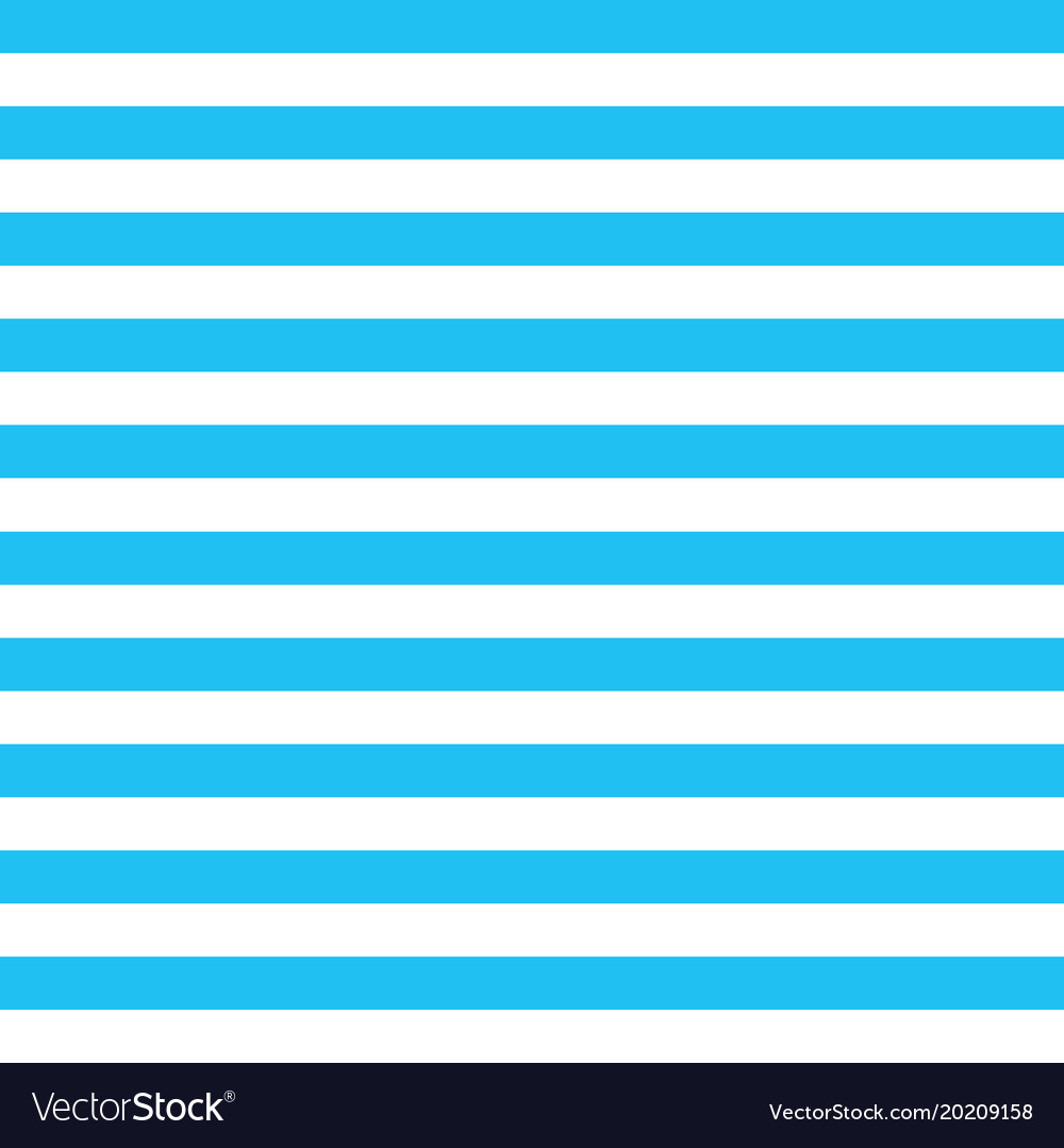Blue Stripes Background With Horizontal Royalty Free Vector