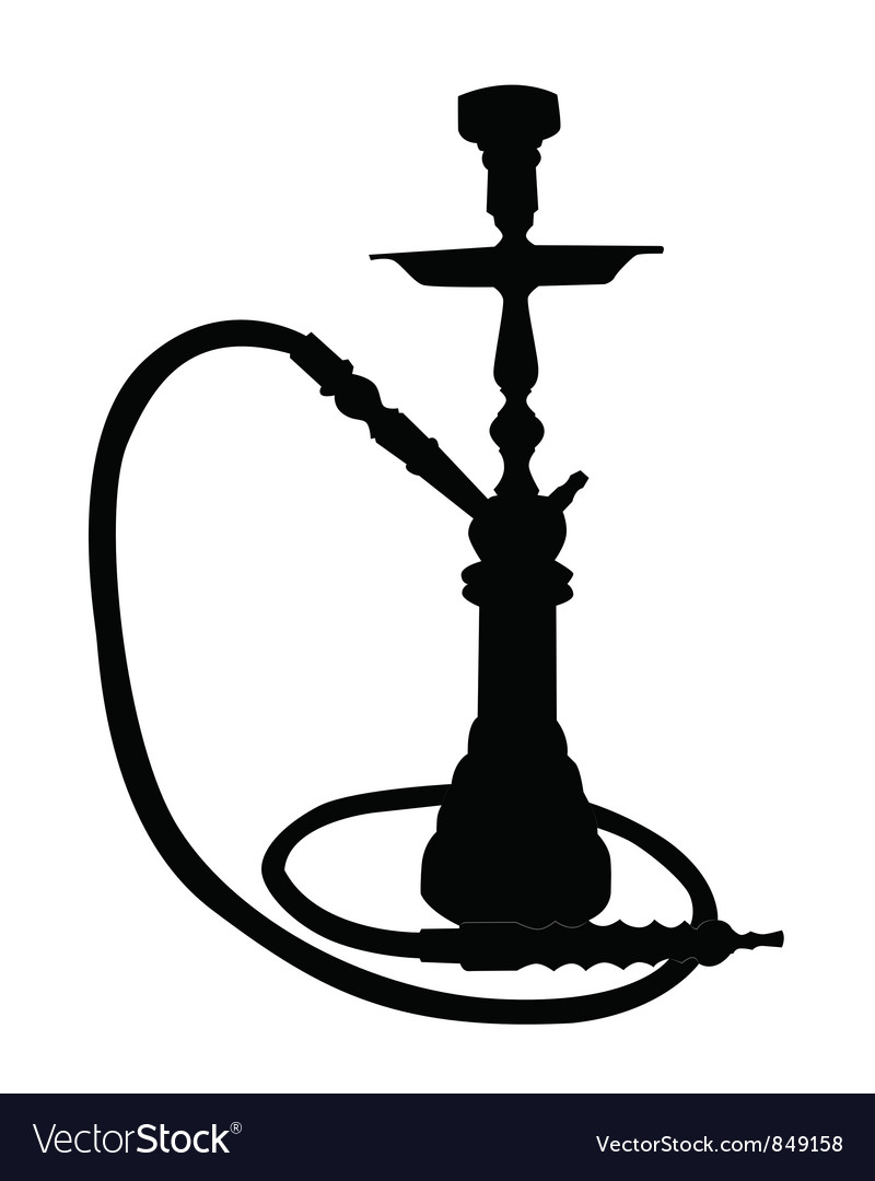 hookah royalty free vector image vectorstock rh vectorstock com hookah vector free download hookah vector freepik