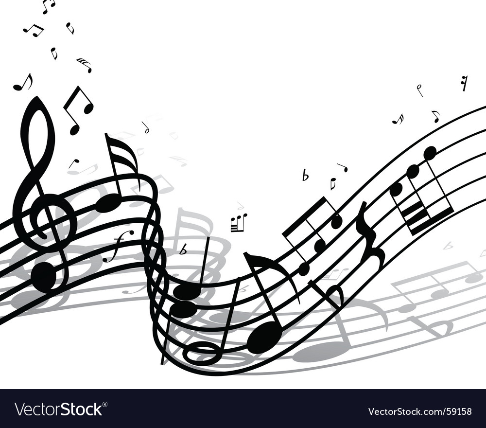 musical notes background. Musical Notes Background