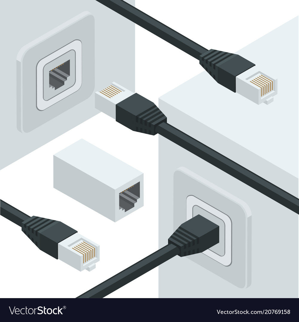 Network internet data connectors