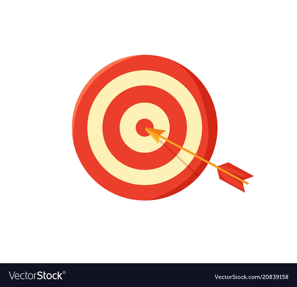 Target board and arrow poster