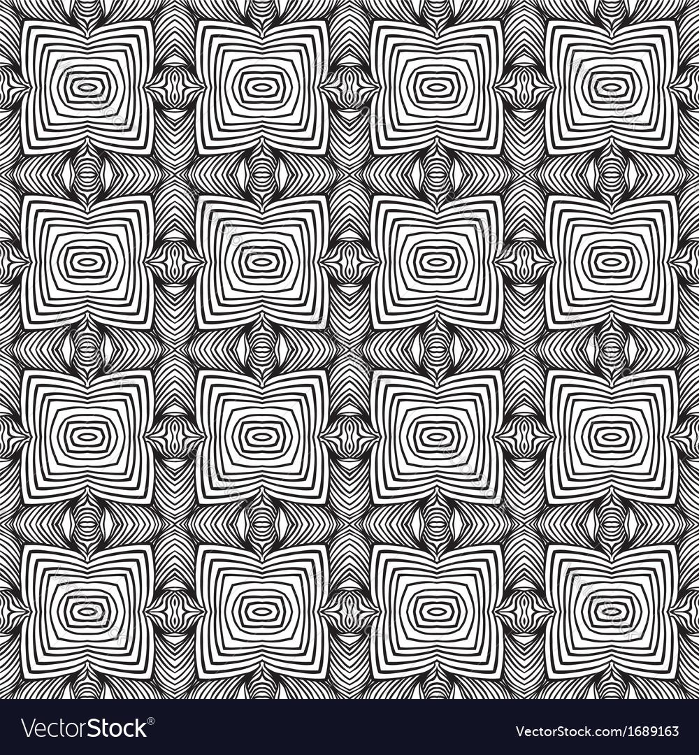 Geometric sixties wallpaper design