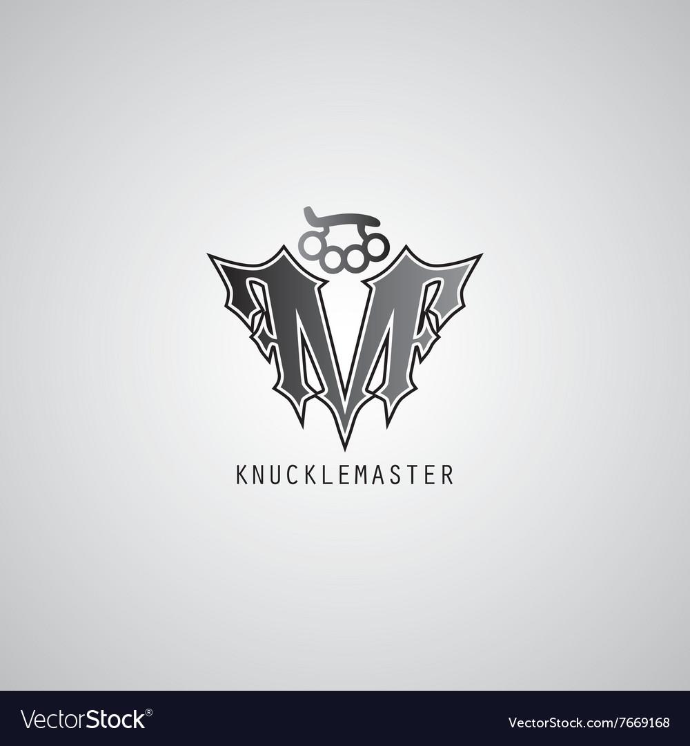 Knuckle logo template