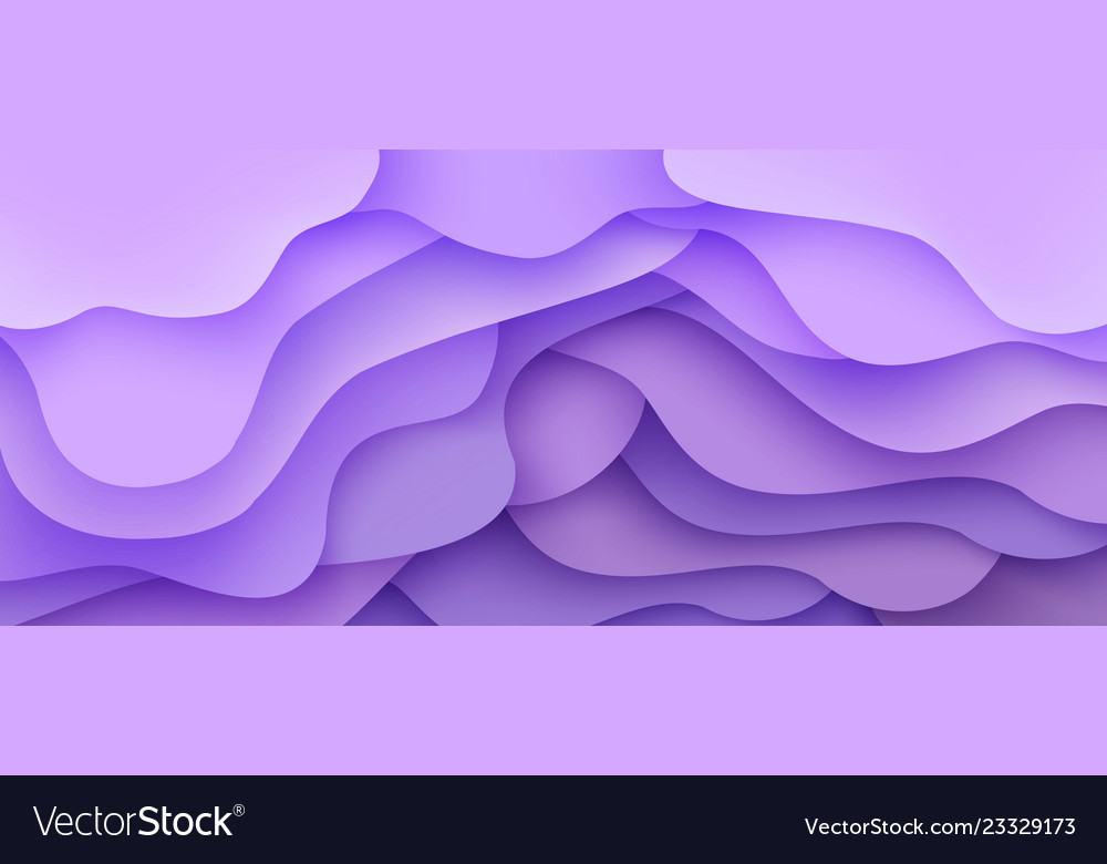 Abstract background wave motion flow purple