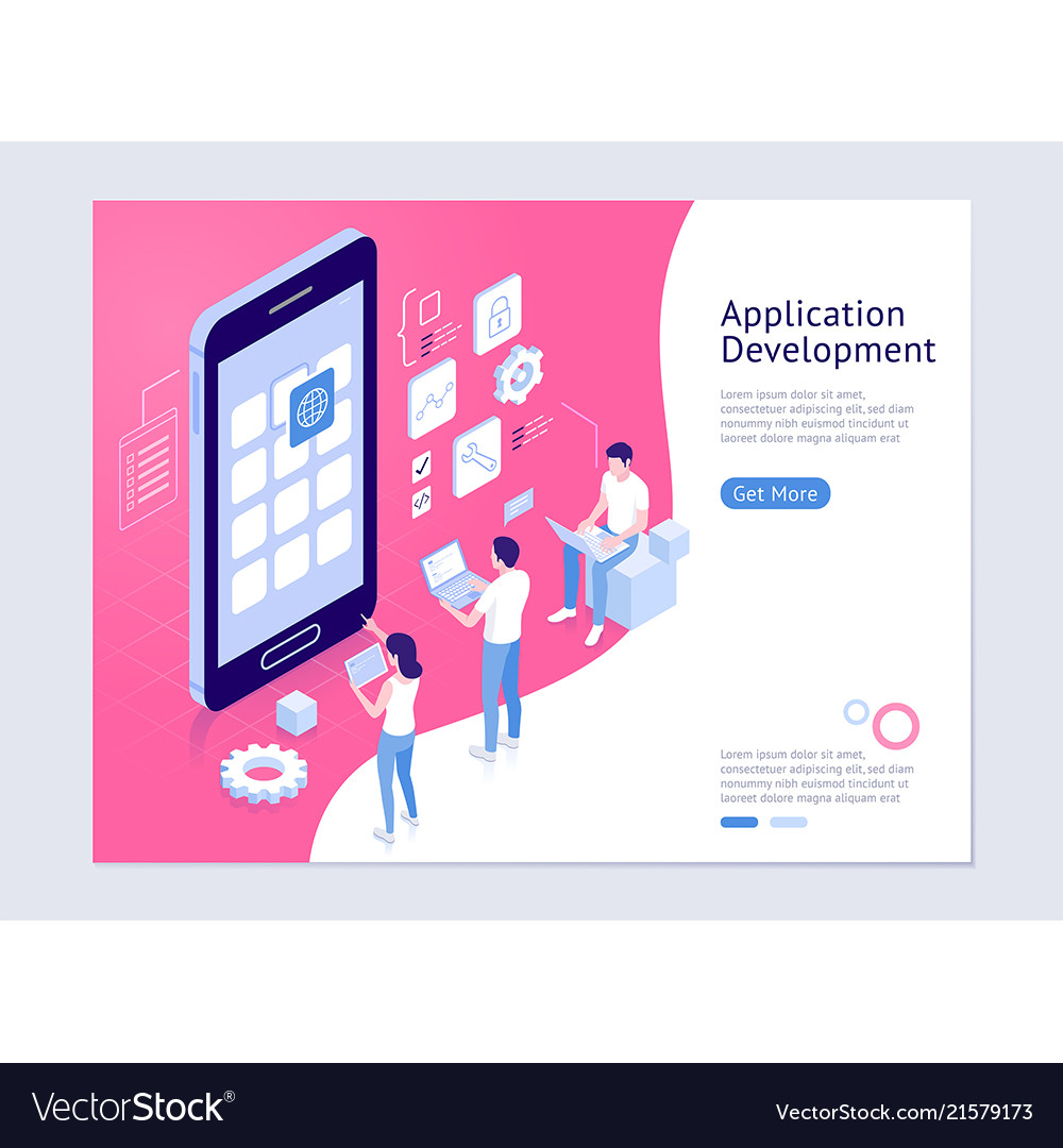 Application development isometric