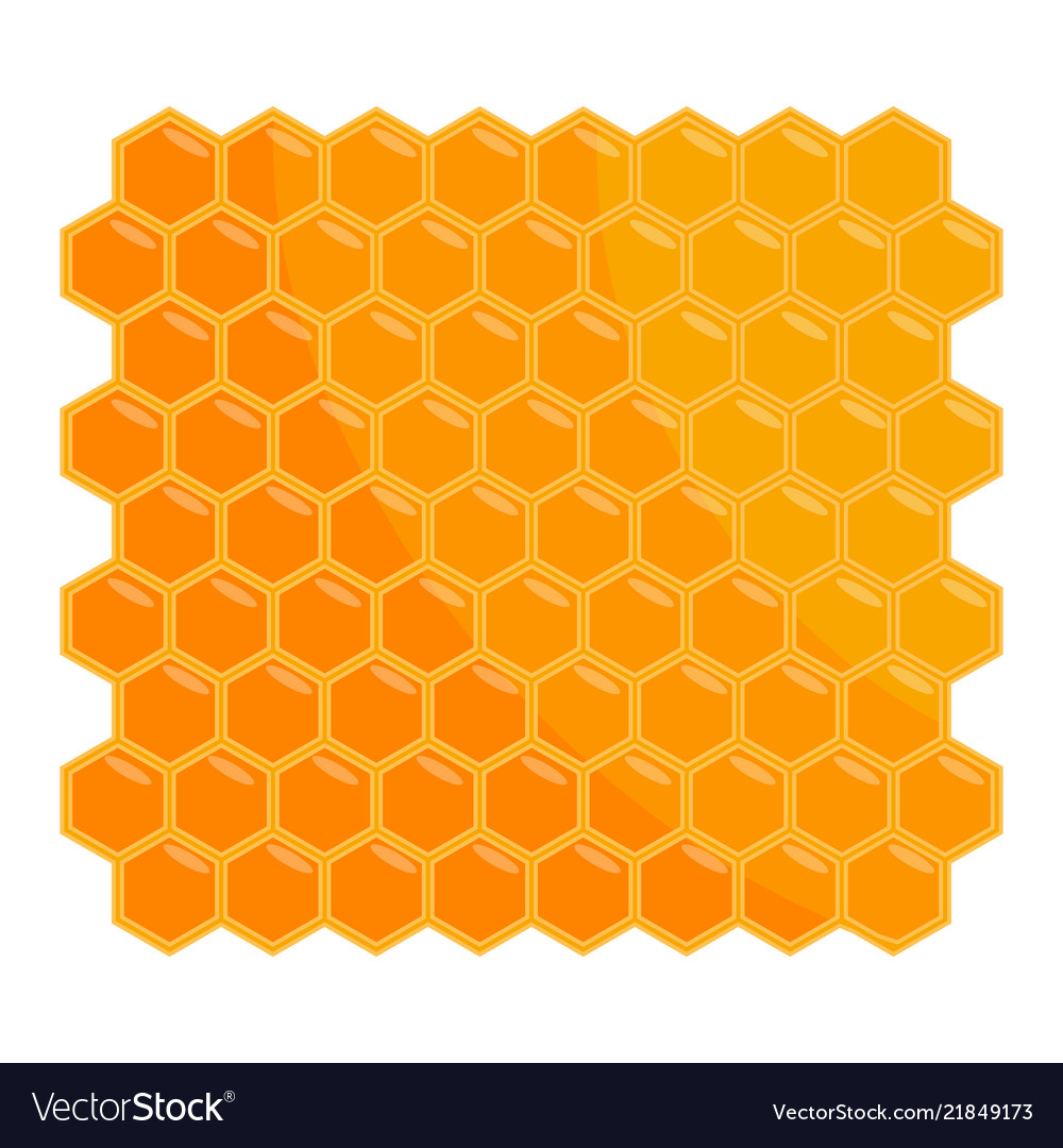 Isolated Honey Hive Icon Vector Image