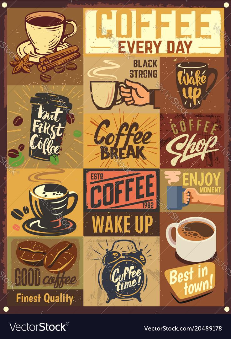 Coffee emblems