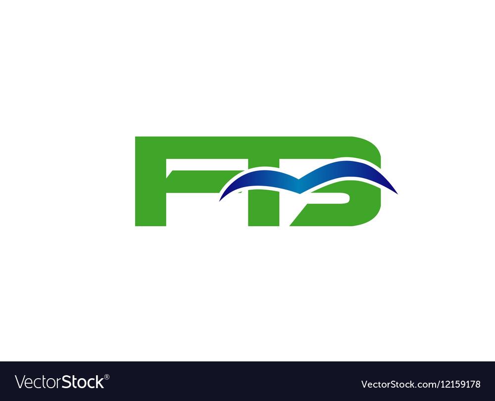 fb company linked letter logo royalty free vector image rh vectorstock com logo vector file logo vectors scratch