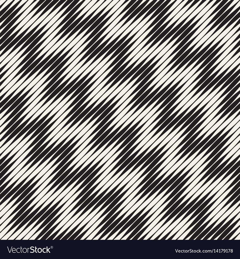 Wavy stripes seamless pattern retro wavy