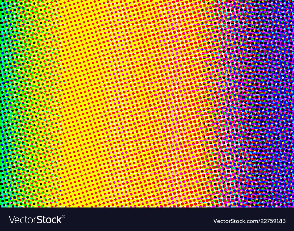 Abstract background of colorful circles colorful