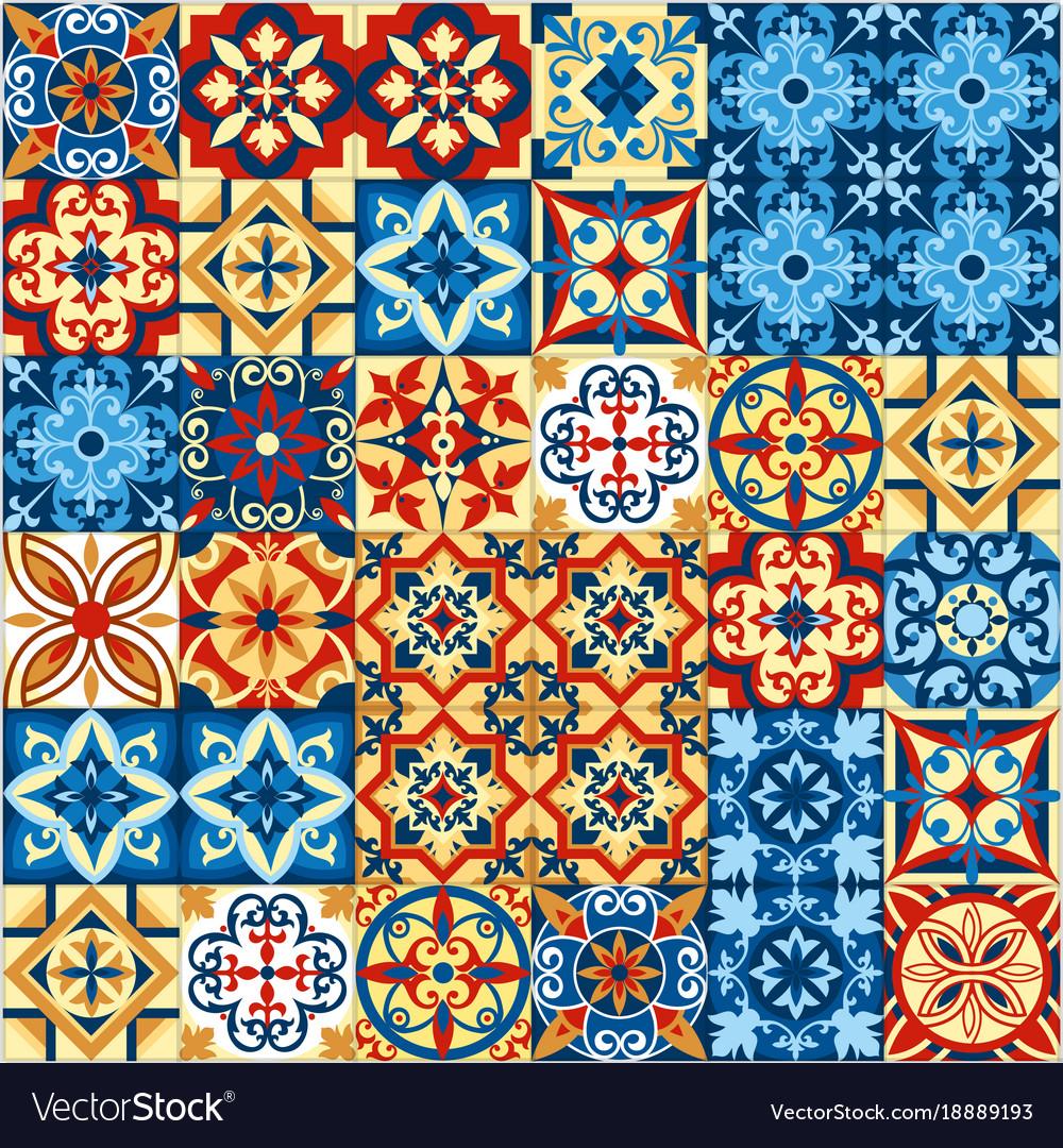 Decorative tile mosaic