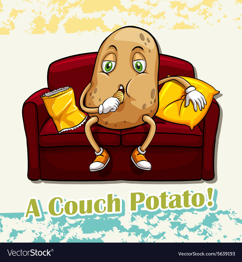 causes nutrition and expression couch potato Couch potato is the world's first sit-tracker, a one of a kind app that measures and celebrates your inactivity the more you sit, the more your couch potato will grow how does it work once the app is downloaded, all you have to do is relax the tracker will monitor how much time you don't move.