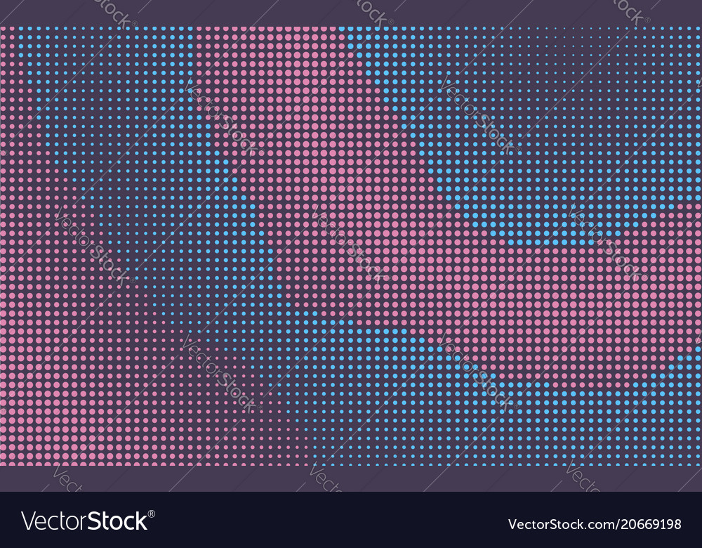Abstract pink and blue retro comic background