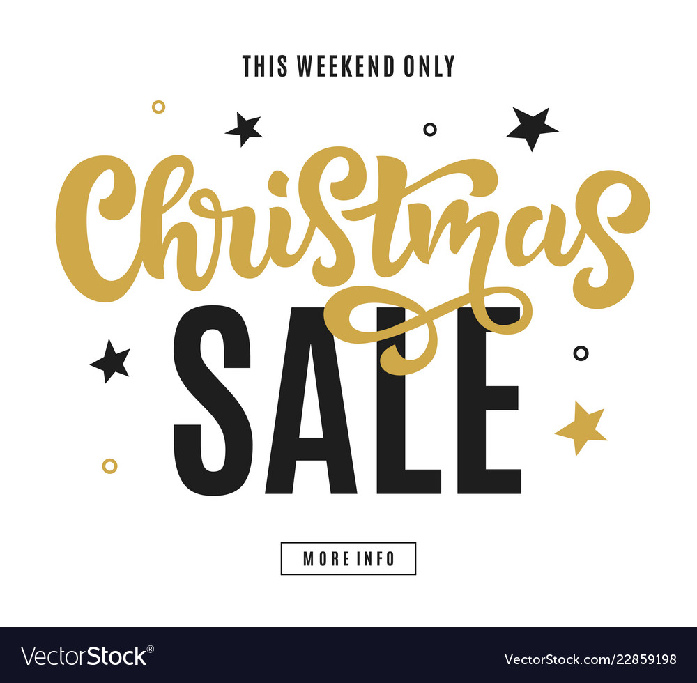 Merry christmas sale web banner template