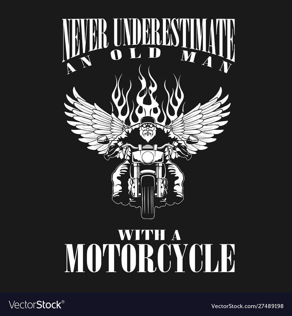 Oldman motorcycle