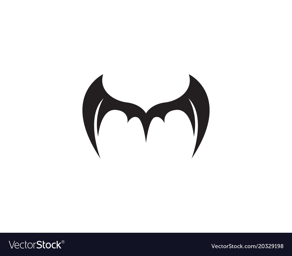 Wing bat logo and symbols template icons
