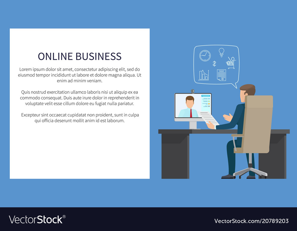 Online business banners color
