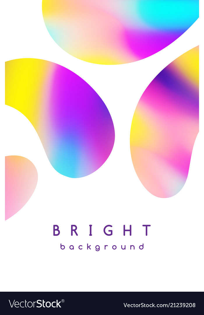 Booklet cover template bright blurred background